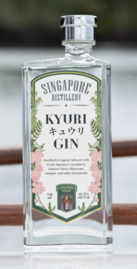 Singapore Distillery Kyuri Gin