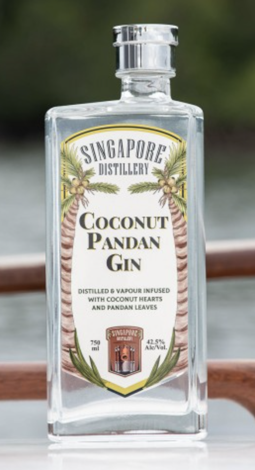 Singapore Distillery Coconut Pandan Gin